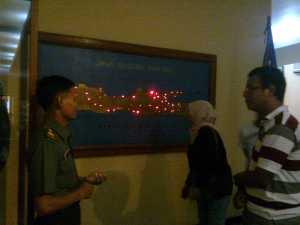 Peta persebaran tentara PETA di Pulau Jawa