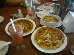 Pizza dan Lasagna